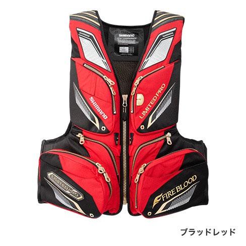 シマノ NEXUS・フローティングベスト LIMITED PRO ブラッドレッド XL