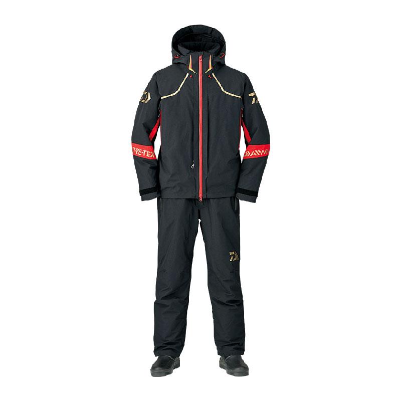 ダイワ(Daiwa) DW-1307 ゴアテックス プロダクト ハイロフト ウィンタースーツ 3XL Black /防寒着 防寒ウェア 釣り