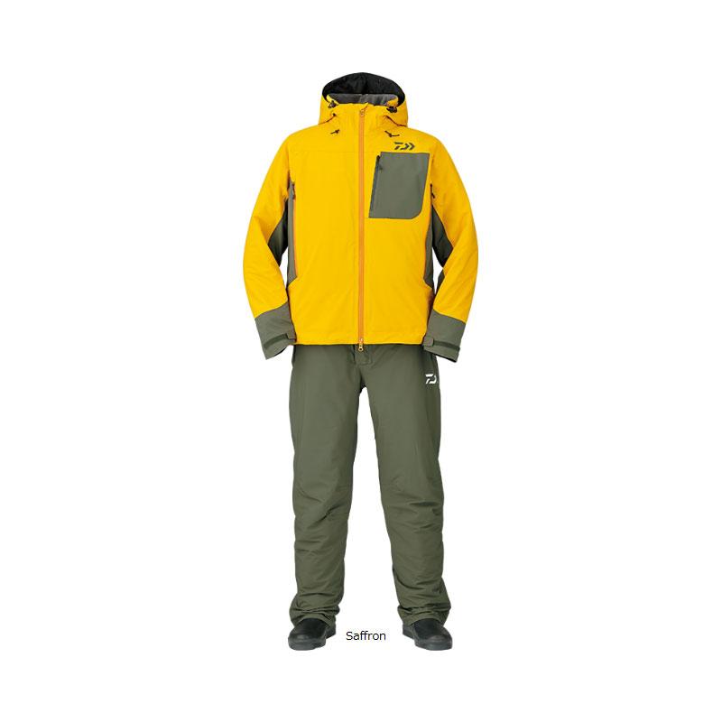 ダイワ(Daiwa) DW-3107 レインマックス ハイパー ストレッチ ウィンタースーツ L Saffron【防寒ウェアクリアランス】 /防寒着 防寒ウェア 釣り