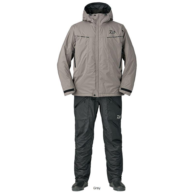 ダイワ(Daiwa) DW-3207 レインマックス エクストラハイロフト ウィンタースーツ 4XL Gray /防寒着 防寒ウェア 釣り