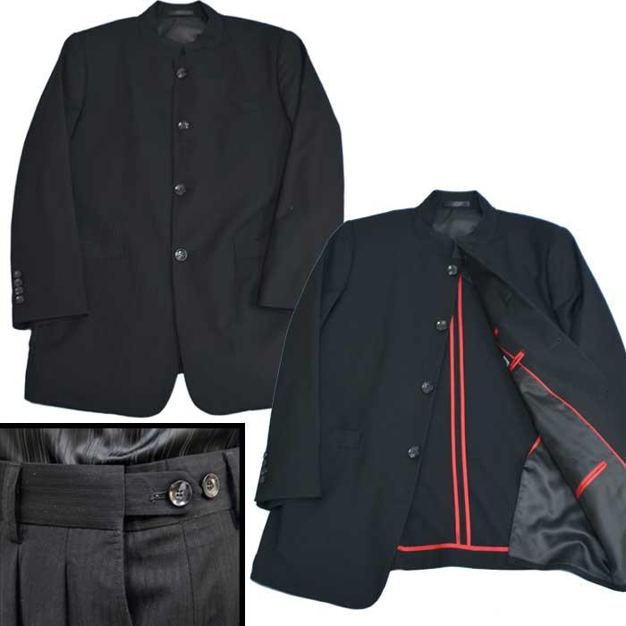 6616936809011 マオカラースーツ · 春夏マオカラースーツマオカラージャケット個性派スタイル黒ブラックオシャレ系 ...
