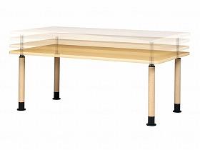 昇降式テーブル MRT-1890/弘益 床周り関連商品 ベッド付属品 ベッド用昇降テーブル 介護用品.