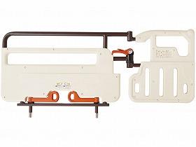 レバーロック式ベッド用グリップ ニーパロL/プラッツ 床周り関連商品 ベッド付属品 移乗バー.