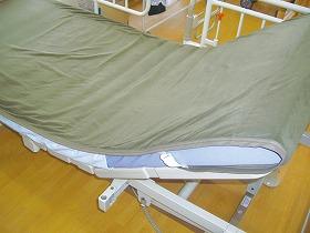 離床応援マイクロフリースベッドパットwith TRINOX/ケア・システム 床周り関連商品 寝具 ベッドパッド 介護用品.