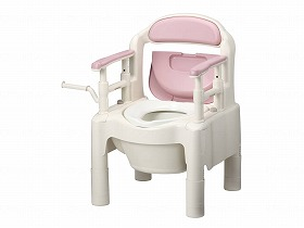 FX-CP/アロン化成 トイレ及び排泄関連 ポータブルトイレ 樹脂製トイレ 介護用品.