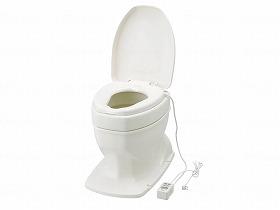 サニタリーエースOD 暖房便座据置式 補高#5/アロン化成 トイレ及び排泄関連 ポータブルトイレ 樹脂製トイレ 介護用品.