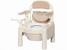 ポータブルトイレ 樹脂製トイレ ★FX-CPはねあげ/アロン化成トイレ及び排泄関連