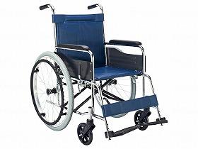 スチール製車いす EX-10B/マキテック 歩行関連商品 車いす(本体) 自走型 介護用品.