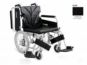 簡易モジュール介助用 超低床KA816-42B-SL/カワムラサイクル 歩行関連商品 車いす(本体) 介助型 介護用品.