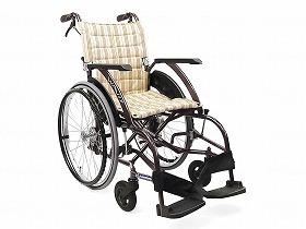 WAVIT ソフトタイヤ軽量自走 WA22-42S/カワムラサイクル 歩行関連商品 車いす(本体) 自走型 介護用品