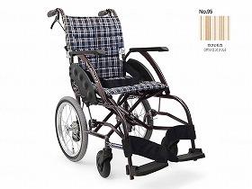 WAVIT ソフトタイヤ軽量介助 WA16-42S/カワムラサイクル 歩行関連商品 車いす(本体) 介助型 介護用品