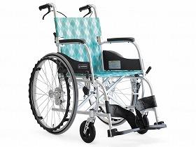 ふわりす(エアタイヤ軽量仕様) KF22-42SB/カワムラサイクル 歩行関連商品 車いす(本体) 自走型 介護用品.