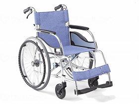 超軽量エアリアル自走(ブレーキ付)MW-SL11B/松永製作所 歩行関連商品 車いす(本体) 自走型 介護用品