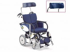 オアシス 介助OS-12TR 枕:浅(BJ-B・ストレート)/松永製作所 歩行関連商品 車いす(本体) リクライニング・ティルト 介護用品