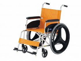MRI室用車いす/日進医療器 歩行関連商品 車いす(本体) 自走型 介護用品
