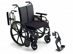 ビッグサイズ KJP-4/ミキ 歩行関連商品 車いす(本体) 自走型 介護用品