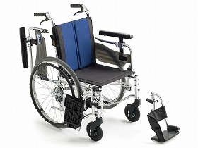 BAL-5 モジュール多機能 自走型車いす/ミキ 歩行関連商品 車いす(本体) 自走型 介護用品