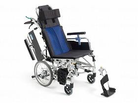 BAL-12 ティルト&リクライニング介助型車いす/ミキ 歩行関連商品 車いす(本体) リクライニング・ティルト 介護用品
