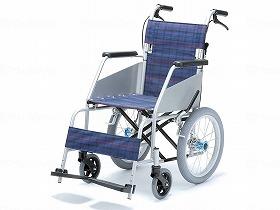 KARLIIカールコンパクト 介助式 KW-803/片山車椅子 歩行関連商品 車いす(本体) 自走型 介護用品