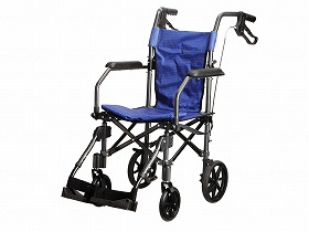 折り畳み式軽量介助車 ハンディライトプラス/ユーキ・トレーディング 歩行関連商品 車いす(本体) 介助型 介護用品