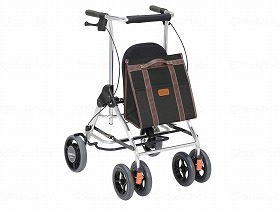 抵抗器付歩行車 テイコブ リトルR/幸和製作所 歩行関連商品 歩行車 シルバーカータイプ 介護用品.
