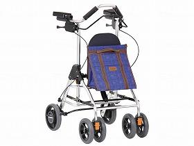 抑速ブレーキ付歩行車 テイコブ リトルRF/幸和製作所 歩行関連商品 歩行車 シルバーカータイプ 介護用品.