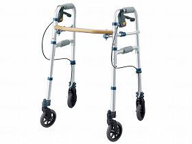 セーフティーアーム Vタイプウォーカーミニ/イーストアイ 歩行関連商品 歩行器 固定型 介護用品
