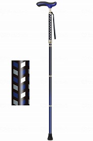 ネオクラシカル 折り畳み ロング/シナノ 歩行関連商品 杖 折りたたみ杖 介護用品