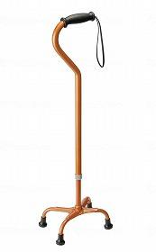 マグネシウム4点杖 テトラ・ケイン 紐(ストラップ)付/田辺プレス 歩行関連商品 杖 4点杖・多点杖 介護用品