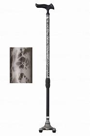 かるがも4ポイントステッキ/フジホーム 歩行関連商品 杖 伸縮杖 介護用品
