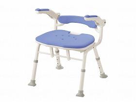 折りたたみシャワーベンチ ISフィット 骨盤サポートタイプ/アロン化成 入浴関連商品 シャワーチェアー 背無し・肘掛付き 介護用品.