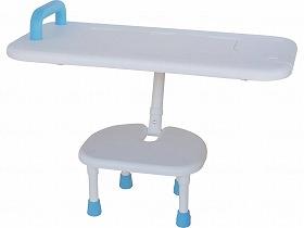 はね上げ式バスボード/ユニトレンド 入浴関連商品 バスボード 座面回転盤無し 介護用品.