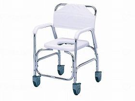 アルミシャワーチェア TY535DXE/日進医療器 入浴関連商品 シャワーキャリー シャワーキャリー 介護用品.