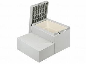 motte専用ステップ CUB-6040WS/城東テクノ 住宅改修関連商品 玄関台・踏み台 玄関台・踏み台 介護用品.