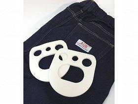 プラスパッドジーンズ(夏用)/エナジーフロント 生活支援関連商品 転倒事故予防 クッションパンツ 介護用品