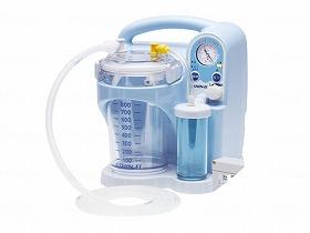 電気式たん吸引器パワースマイル/新鋭工業 医療機器 吸引器 吸引器