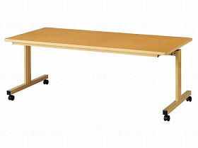 跳ね上げ式テーブル 1690/弘益 施設関連商品 家具 テーブル 介護用品