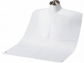 フェルラックエプロン テープ付き 10箱 ケース/竹虎 施設関連商品 感染対策・予防関連品 その他 介護用品