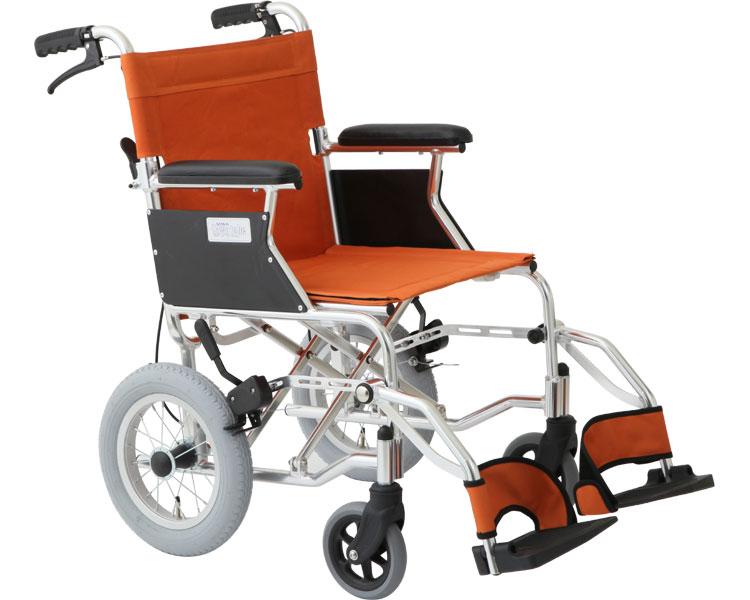 車椅子 軽量 折りたたみ 介助式車いす ミニポン HTB-12【美和商事】【送料無料】【介護用品】【車いす用 車椅子 コンパクト 軽量】