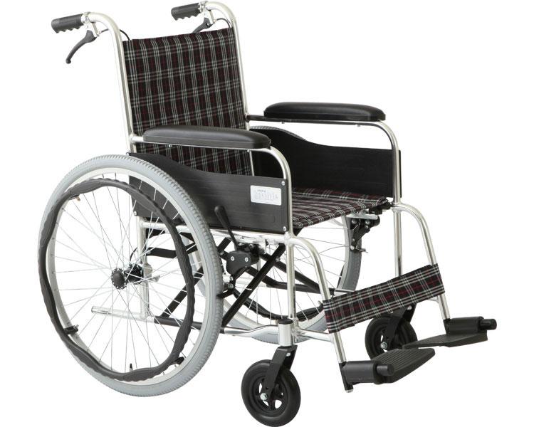 自走車いす アリーズ / MW-22AT 【美和商事】【送料無料】【介護用品】【車いす 車椅子 折りたたみ】