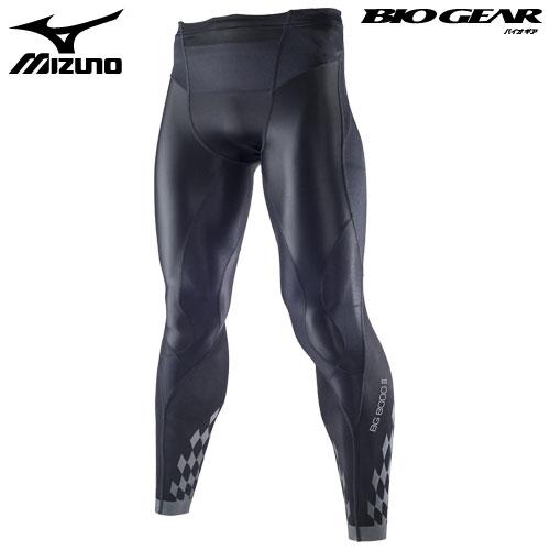 お待たせ! ミズノ(MIZUNO) バイオギアタイツ(ロング) ミズノ(MIZUNO) 男性用 BG8000II(K2MJ5B01) M 男性用 ブラック×ブラック M, グリーンリーフ:fa619508 --- clftranspo.dominiotemporario.com