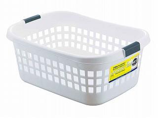 高価値 洗濯物入れ用バスケット ランドリーバスケット ホワイト 激安超特価