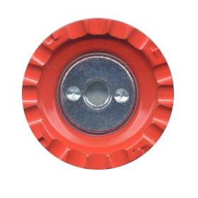 【ツボ万】塗膜はがし専用のカップホイールマクトルオレンジ60 MC-604M (60mm×M10ネジ)