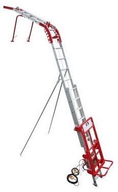 人気 【ユニパー】荷揚げ機 武蔵 UP-115H-2F(レールセット2階用・ウインチなし) スライドレール式瓦・ボード・ソーラーパネル揚げ機用:工具のプロショップ「ふどう」-DIY・工具