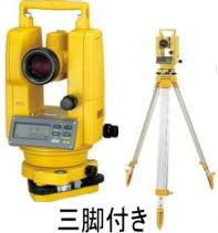 独特の上品 (三脚付き):工具のプロショップ「ふどう」 特価!【トプコン】防水型デジタルセオドライト(レーザーポインター搭載)DT-214SET-DIY・工具