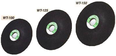 【友定建機】ウオールタッチ150mm WT-150/25枚入り1箱(コンクリート研削砥石)