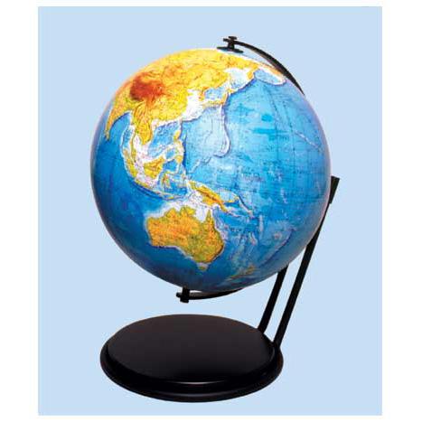 【メーカー直送】【送料無料】グローバルプランニング 地球儀 球径26cm 地勢 GP-261【楽ギフ_のし】