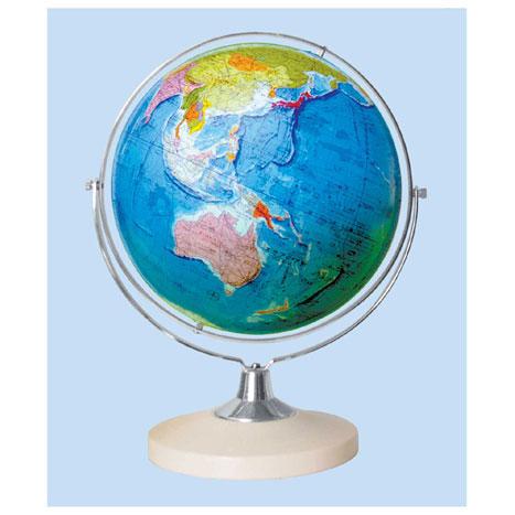 【メーカー直送】【送料無料】グローバルプランニング 地球儀 球径26cm 行政 GP-266【楽ギフ_のし】