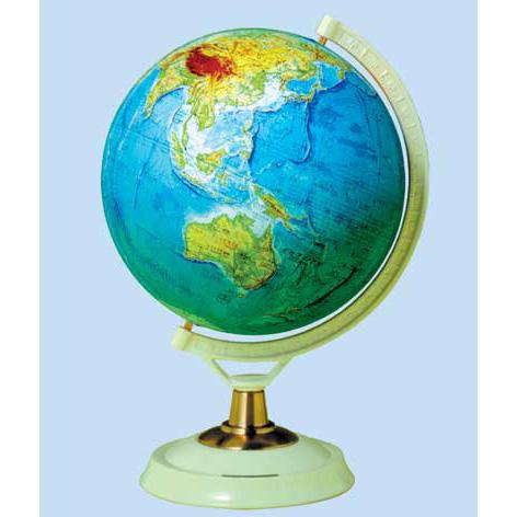 【メーカー直送】【送料無料】グローバルプランニング 地球儀 球径26cm 地勢 GP-267【楽ギフ_のし】【キャンペーン参加で最大34倍】