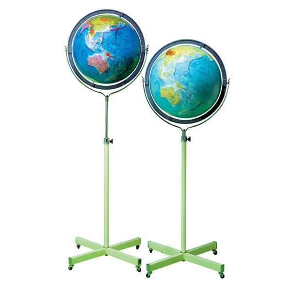 【メーカー直送】【送料無料】グローバルプランニング 地球儀 球径43cm 行政 GP-434【楽ギフ_のし】【キャンペーン参加で最大34倍】
